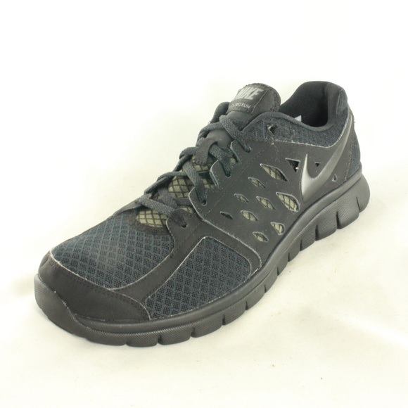 Nike Flex 2013 Run Men s Size 10.5 Black Sneakers.  M 5aae79a072ea88ff059cc4cb 1fb5b6b40adf